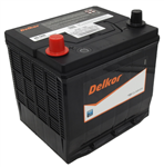 12V 500CCA 45AH DELKOR BATTERY 36 MTHS WARR PRIVATE 12 MTHS WARR COMMERCIAL 206L X 172W X 205H LEFT HAND POSITIVE SUITS POLARIS 401413 BATTERY BOBCAT KUBOTA CUBCADET