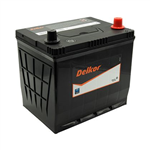 12v 550CCA 55D23L DELKOR BATTERY 36 MTHS WARR PRIVATE 12 MTHS WARR COMMERCIAL 6 MTHS WARR TAXI USE new warranty periods from the 010617  233L X 173W X 222H   RHP